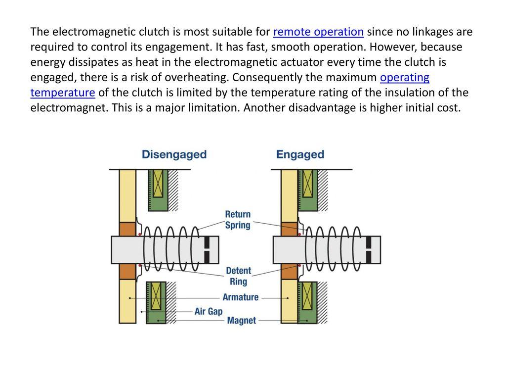 hight resolution of electromagnetic clutch ppt download rh slideplayer com cj5 clutch diagram clutch fork