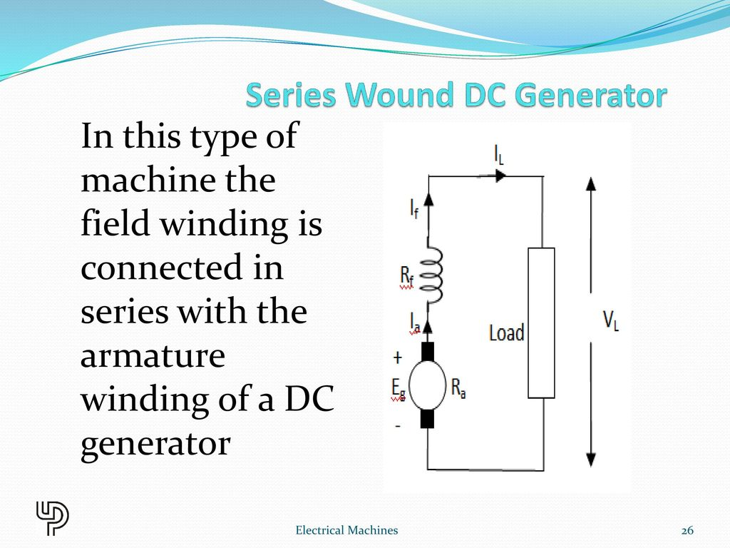 hight resolution of 26 series wound dc generator