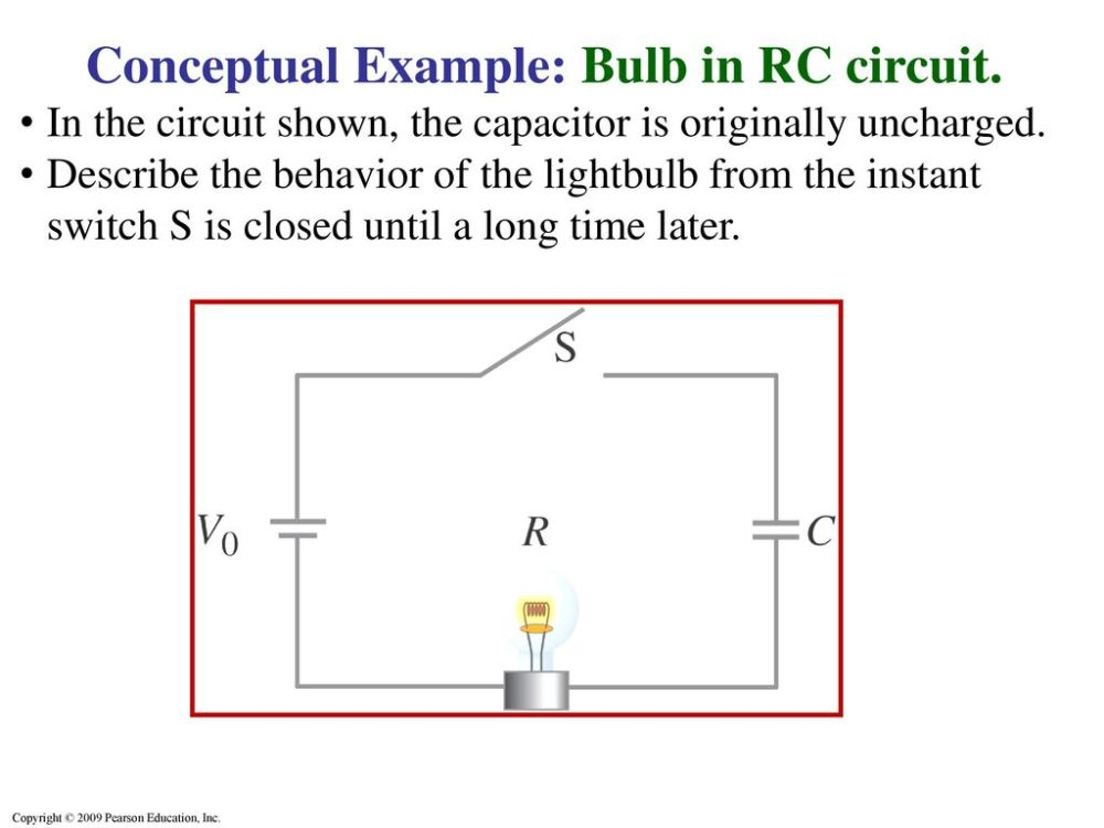 medium resolution of conceptual example bulb in rc circuit