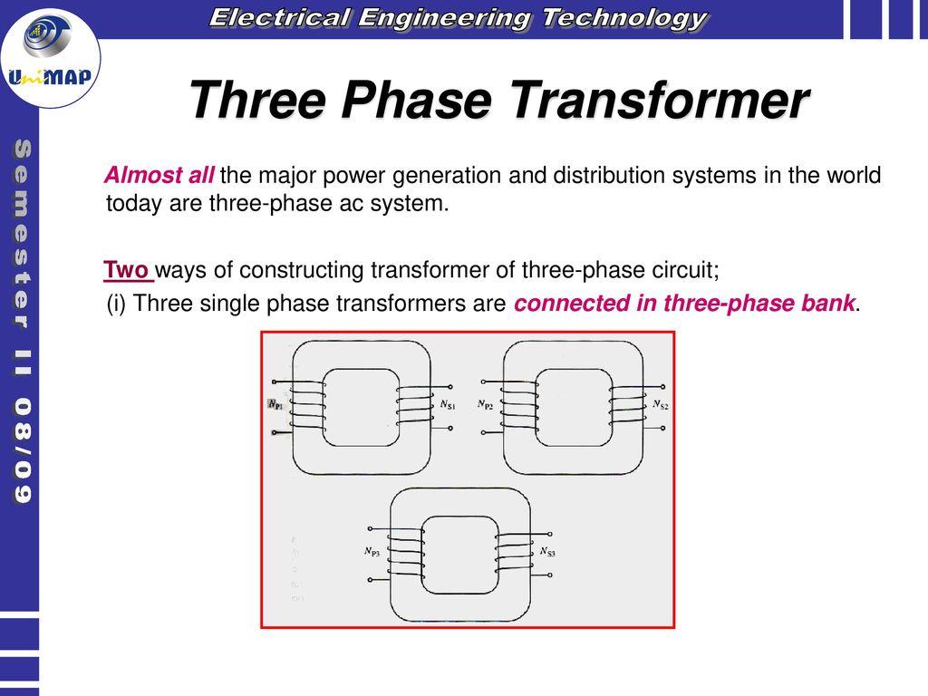 hight resolution of three phase transformer