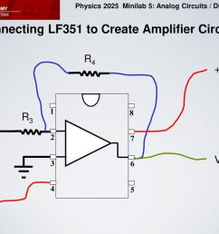 connecting lf351 to create amplifier circuit [ 1024 x 768 Pixel ]
