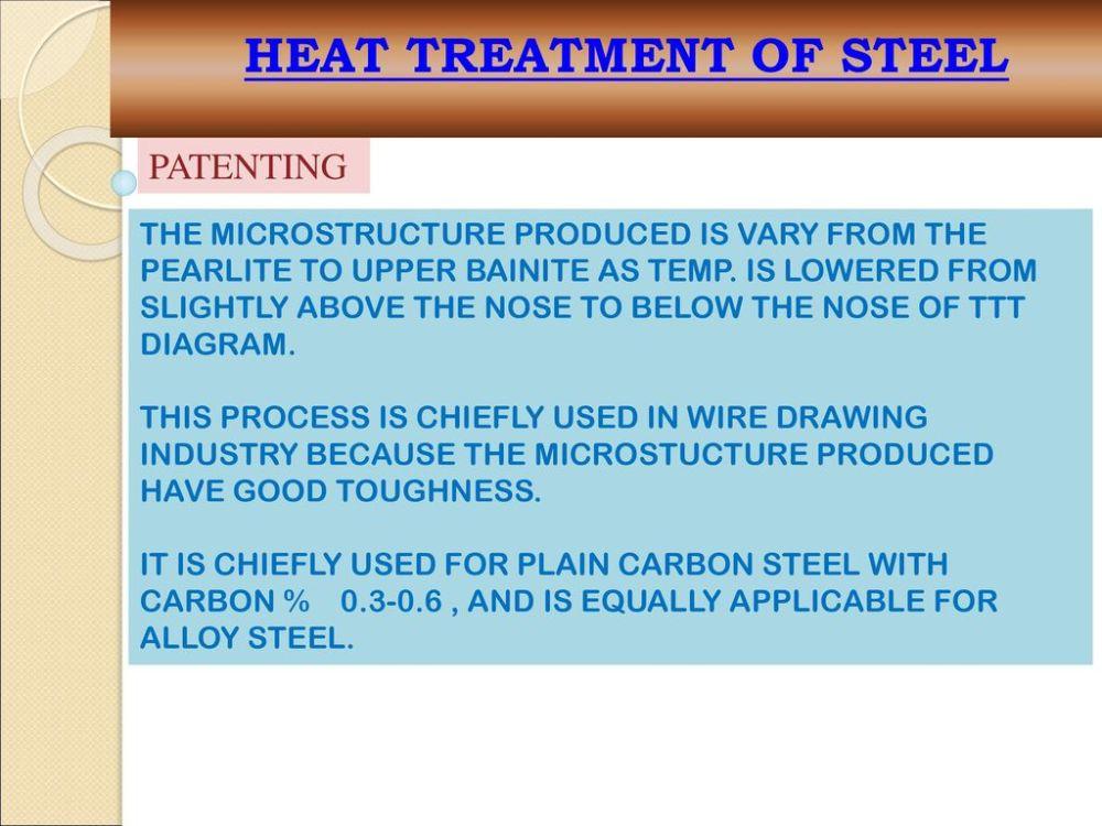medium resolution of 46 heat treatment of steel