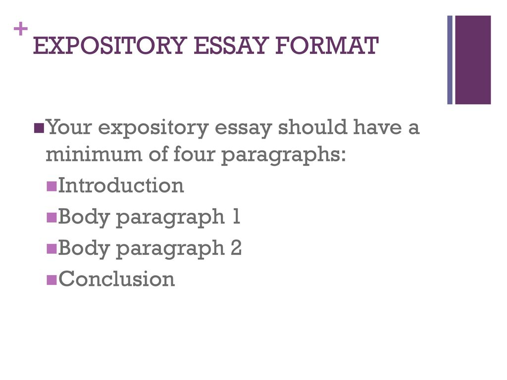 Essay Intro Format Expository Essay Format Ppt Download
