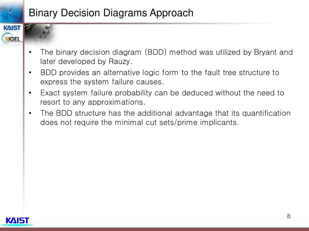 medium resolution of binary decision diagrams approach