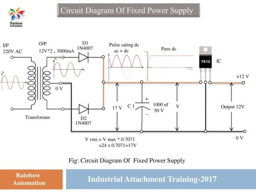 small resolution of circuit diagram of fixed power supply