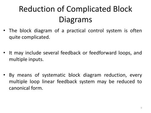 small resolution of 9 reduction of complicated block diagrams