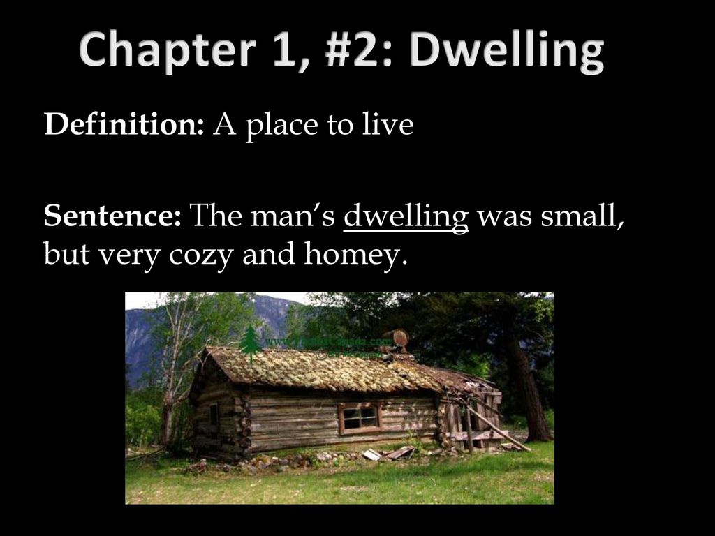 What Does Dwelling Mean In The Giver