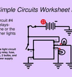 18 simple circuits worksheet lii [ 1024 x 768 Pixel ]