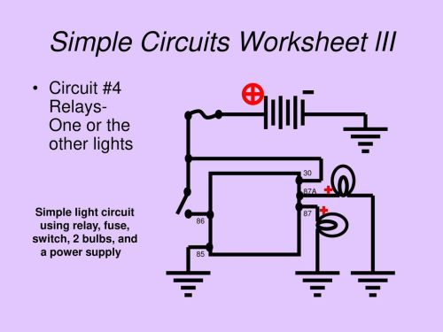 small resolution of 18 simple circuits worksheet lii