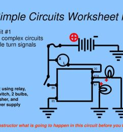 20 simple circuits worksheet lv circuit 1 more complex circuits simple turn signals  [ 1024 x 768 Pixel ]