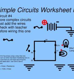 simple circuits worksheet lv [ 1024 x 768 Pixel ]