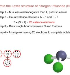 write the lewis structure of nitrogen trifluoride nf3  [ 1024 x 768 Pixel ]