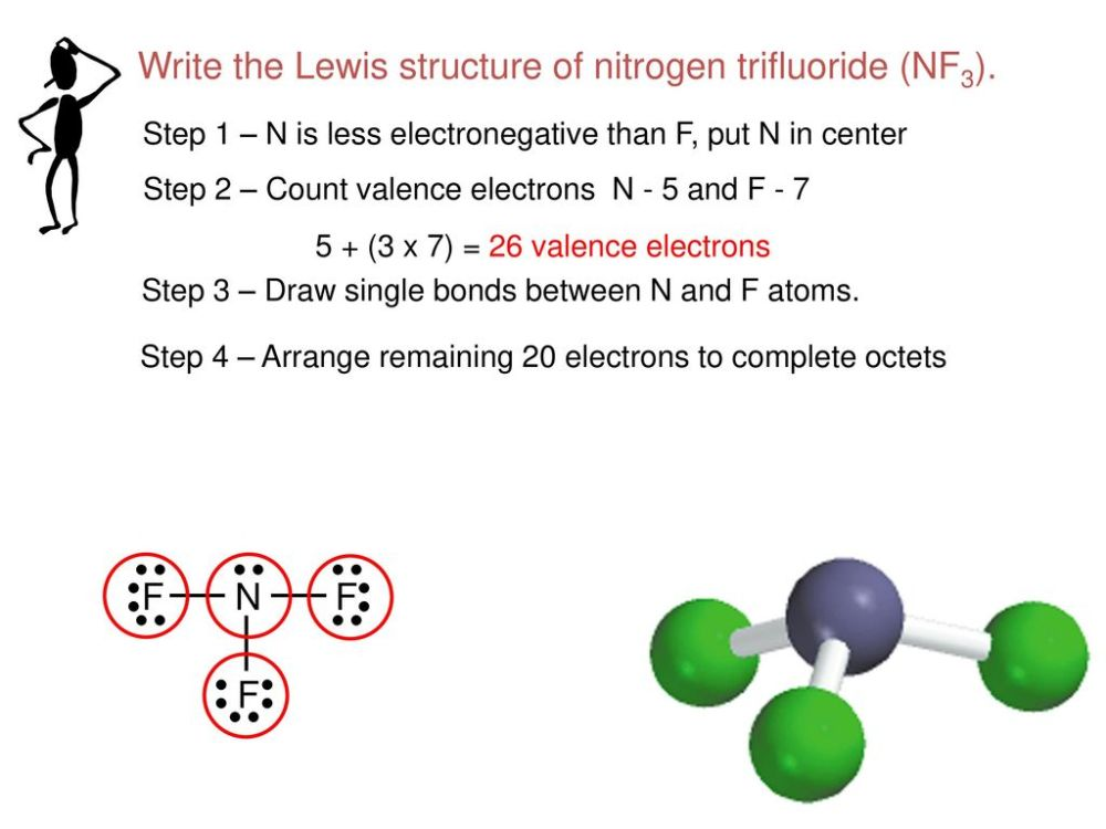 medium resolution of write the lewis structure of nitrogen trifluoride nf3