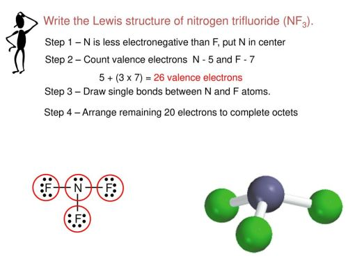 small resolution of write the lewis structure of nitrogen trifluoride nf3