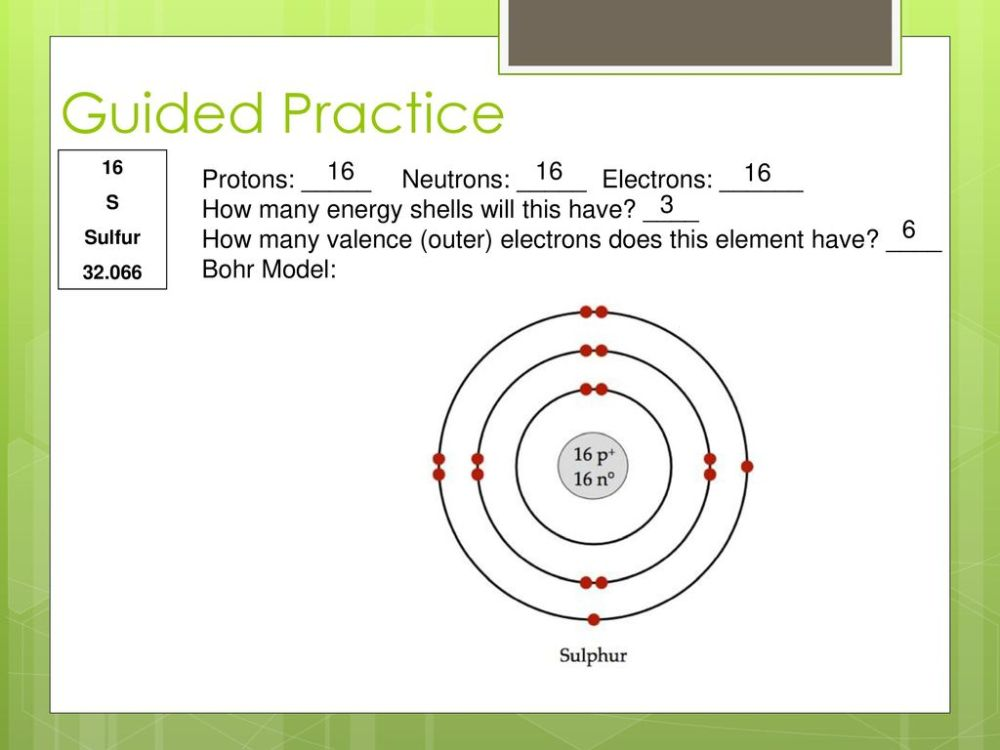 medium resolution of s sulfur protons neutrons electrons