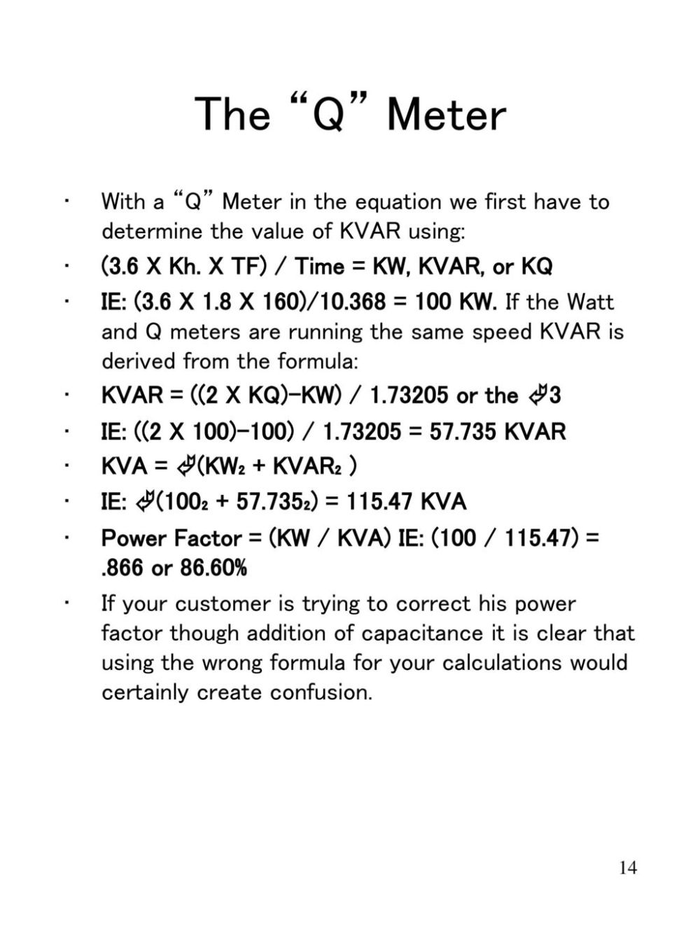 medium resolution of the q meter with a q meter in the equation we first have to determine the