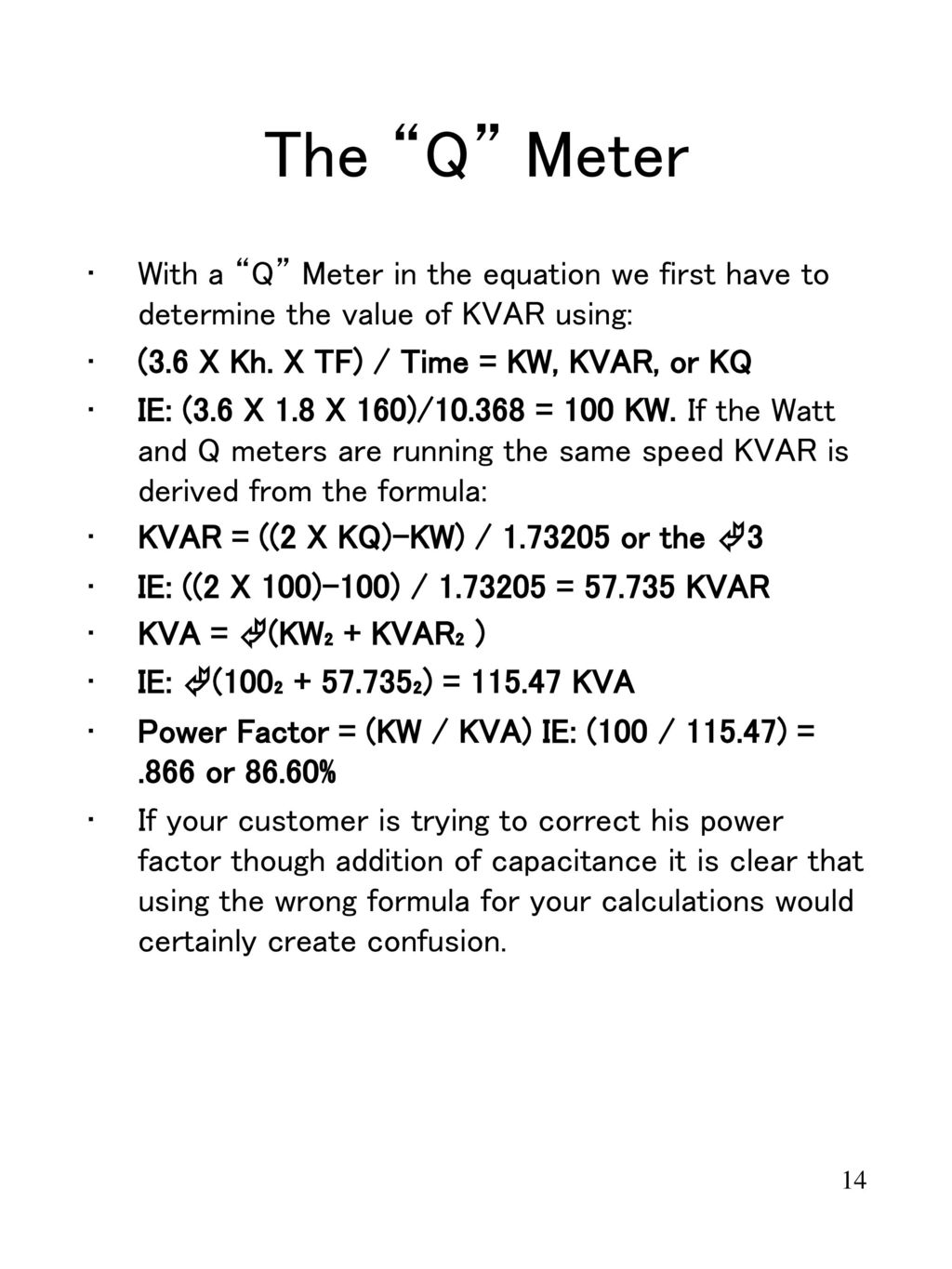hight resolution of the q meter with a q meter in the equation we first have to determine the