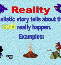 reality: Example Of Reality And Fantasy Story [ 768 x 1024 Pixel ]
