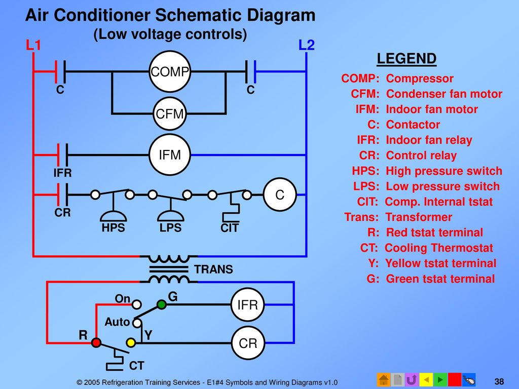hight resolution of  air conditioner wiring diagram ppt on air conditioner not cooling air conditioner contactor diagram