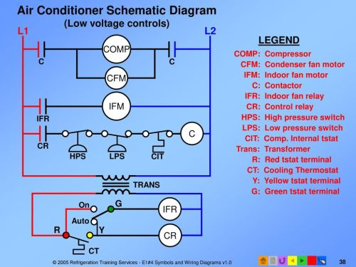 small resolution of  air conditioner wiring diagram ppt on air conditioner not cooling air conditioner contactor diagram