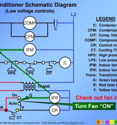 air conditioner schematic diagram low voltage controls  [ 1024 x 768 Pixel ]