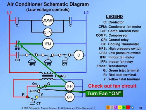 small resolution of air conditioner schematic diagram low voltage controls