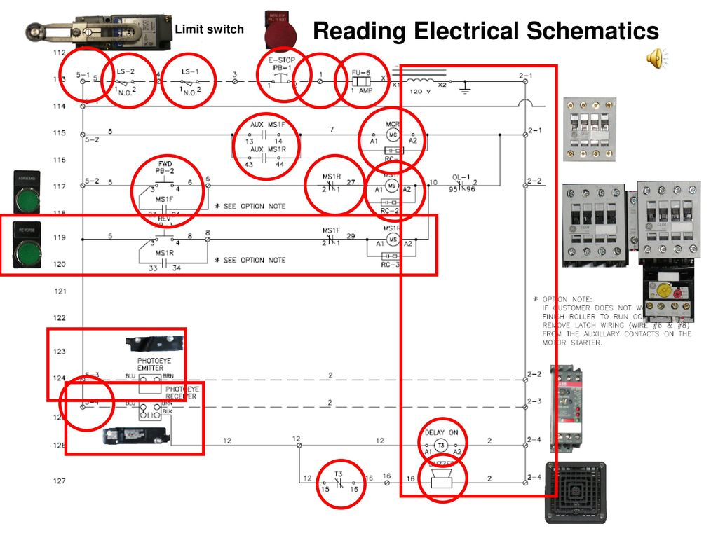 hight resolution of reading electrical schematics