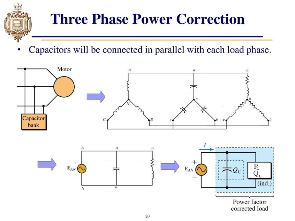 medium resolution of three phase power correction