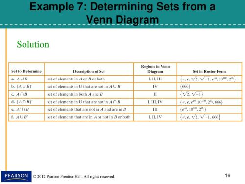 small resolution of example 7 determining sets from a venn diagram