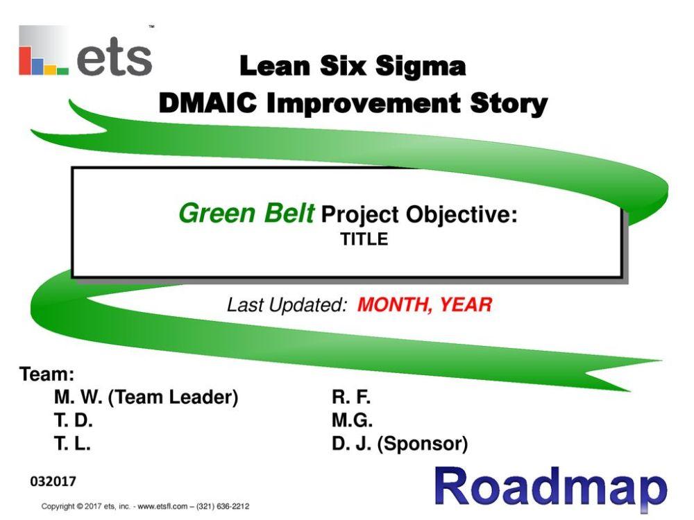 medium resolution of lean six sigma dmaic improvement story