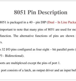 2 8051 pin description  [ 1024 x 768 Pixel ]