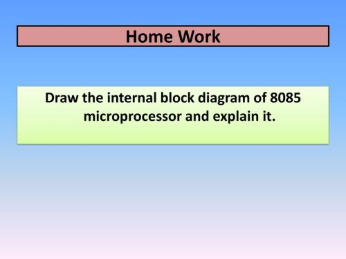 small resolution of draw the internal block diagram of 8085 microprocessor and explain it