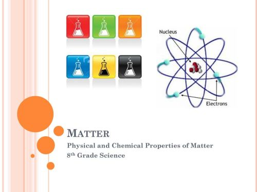 small resolution of Physical and Chemical Properties of Matter 8th Grade Science - ppt download