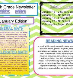 fourth grade newsletter [ 1024 x 768 Pixel ]