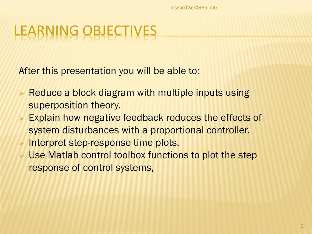 hight resolution of 2 learning objectives