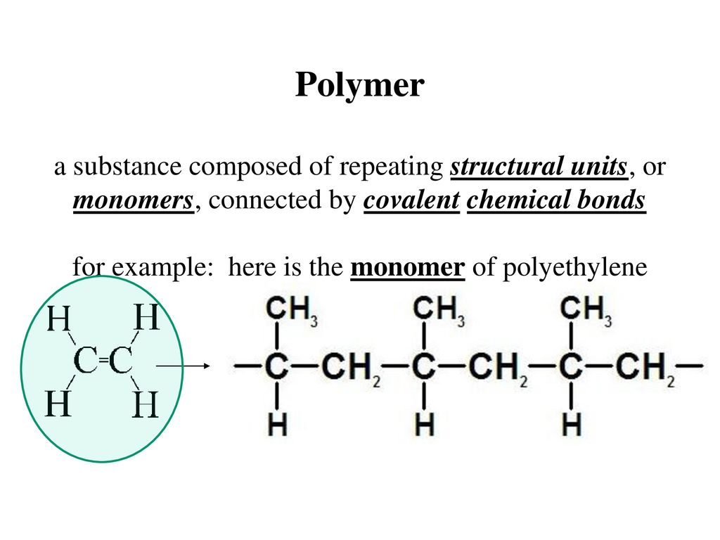 hight resolution of for example here is the monomer of polyethylene