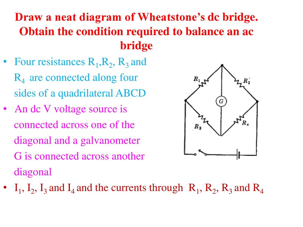 hight resolution of draw a neat diagram of wheatstone s dc bridge