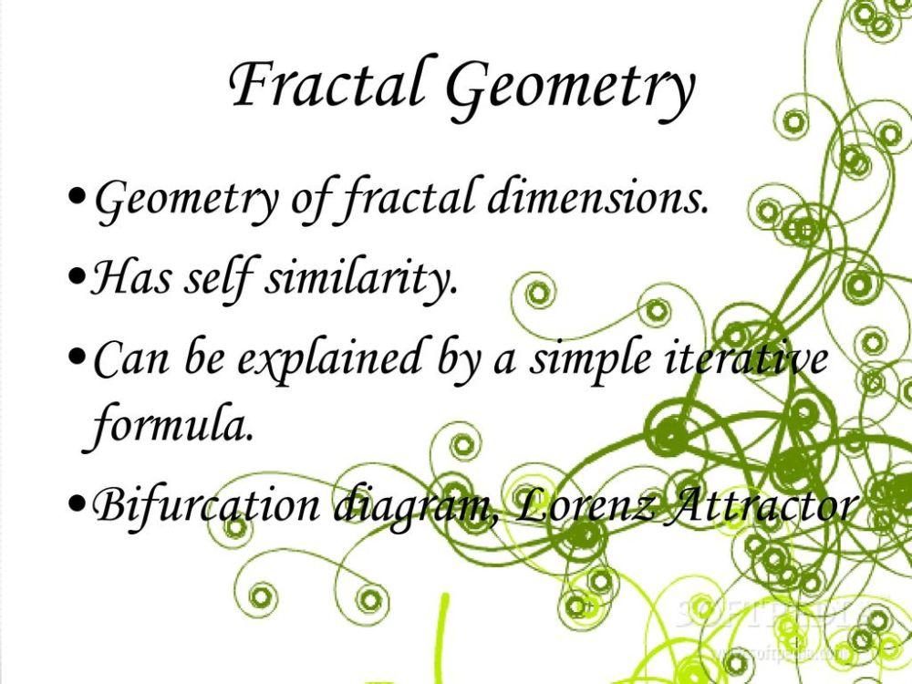 medium resolution of 14 fractal