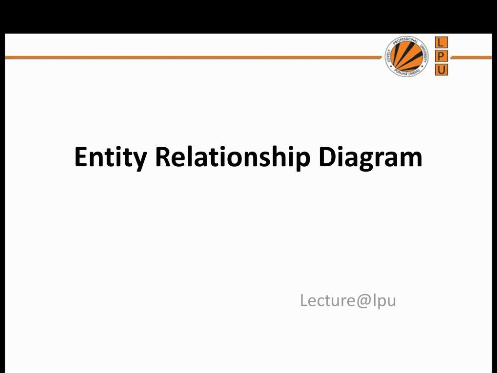 medium resolution of 1 entity relationship diagram