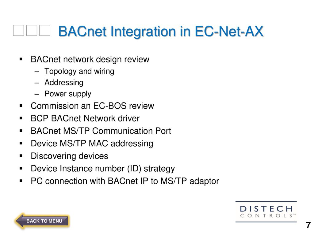 hight resolution of 4 bacnet integration