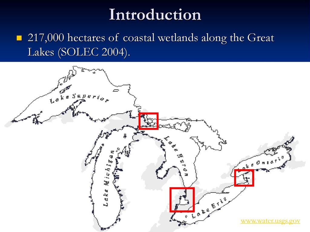 hight resolution of 2 introduction 217 000 hectares of coastal wetlands along the great lakes solec 2004