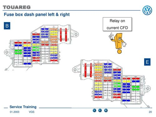 small resolution of fuse box dash panel left right
