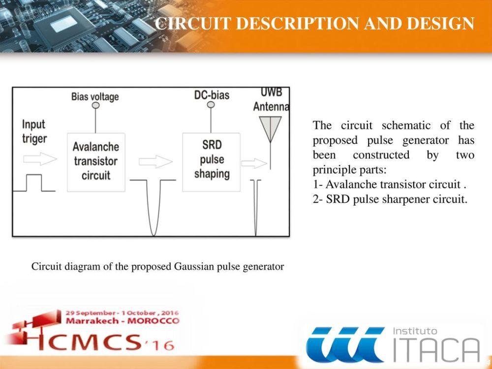 medium resolution of sommaire a compact uwb sub nanosecond pulse generator for microwave regulator circuit diagram microwave circuit design farming simulator