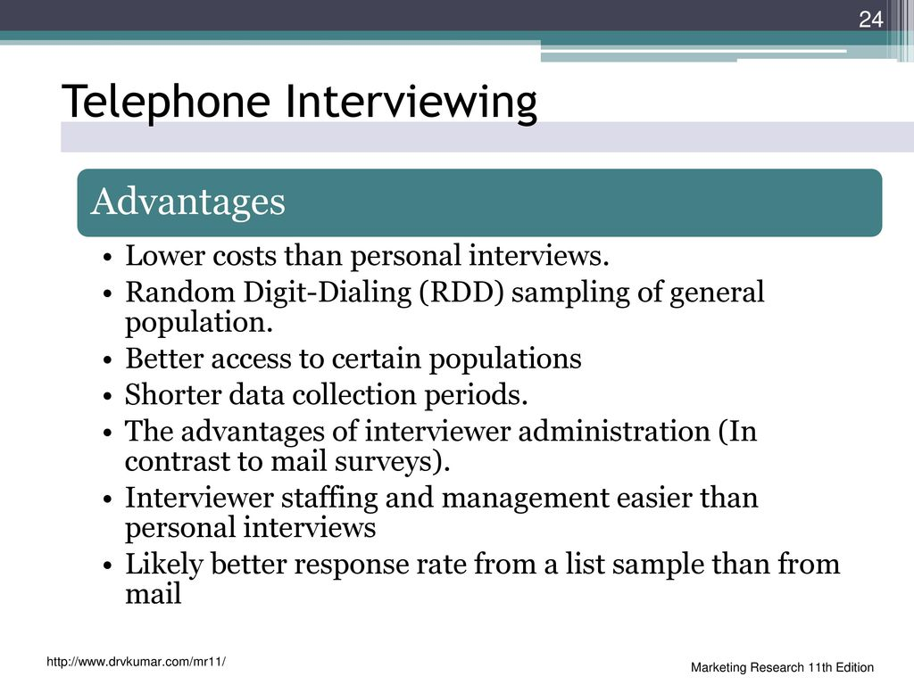 24 Telephone Interviewing