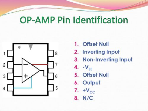 small resolution of 8 op amp pin identification