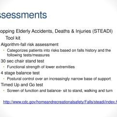 Chair Stand Test Elderly Portable Back Support For Physical Activity Older Adults Ppt Download Assessments Stopping Accidents Deaths Injuries Steadi