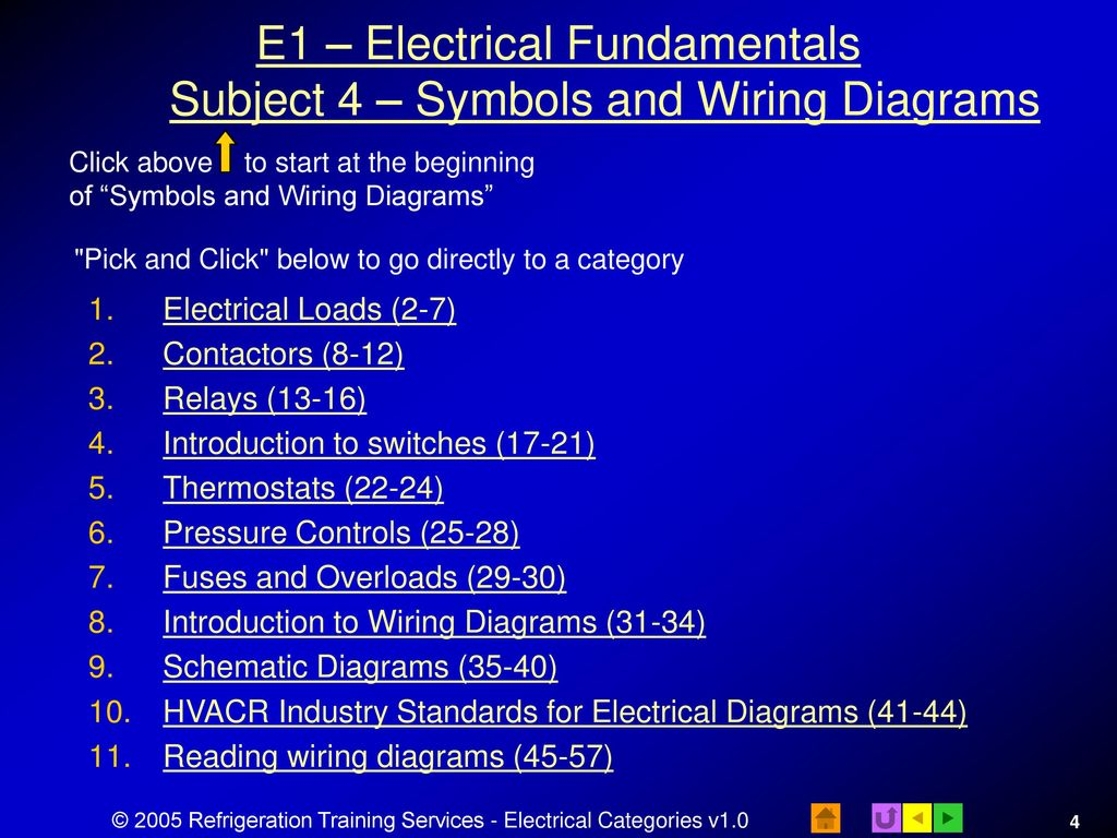 hight resolution of e1 electrical fundamentals subject 4 symbols and wiring diagrams