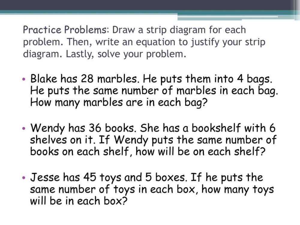 medium resolution of practice problems draw a strip diagram for each problem