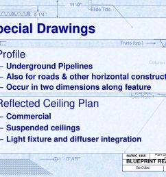 special drawings profile reflected ceiling plan underground pipelines [ 1024 x 768 Pixel ]
