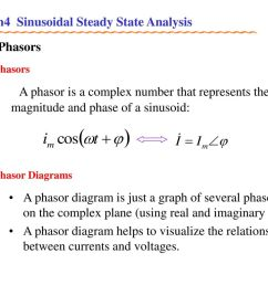ch4 sinusoidal steady state analysis ppt download phasor diagram is merely a pictorial view of the relationship of [ 1024 x 768 Pixel ]